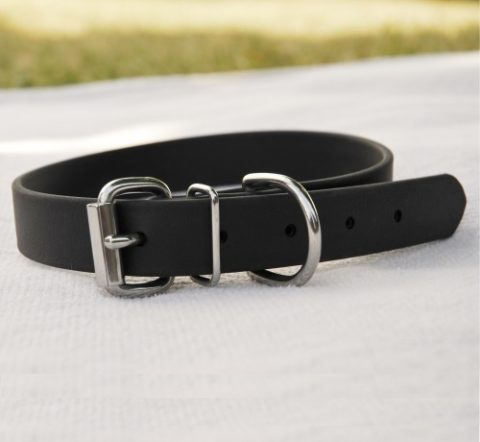 biothane collar for medium/large dog - black Biothane Collar for Medium/Large Dog – Black Biothane Collar Large Dog e1408541589196 480x442