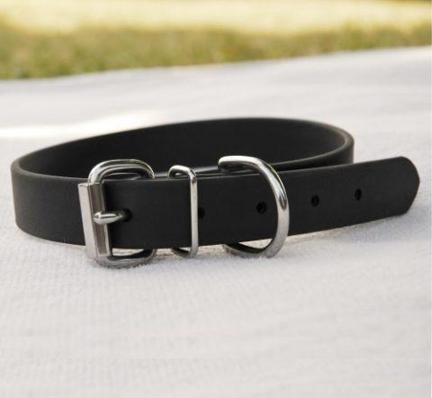 biothane collar for medium/large dog - black Biothane Collar for Medium/Large Dog – Black Biothane Collar Large Dog e1408541589196 480x442