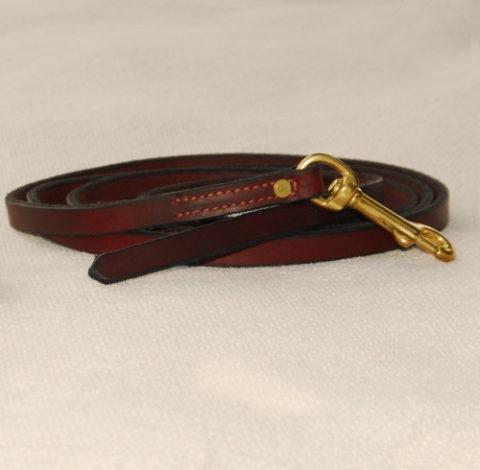 Latigo-Leather-Leash Obedience Leash latigo leather leash - without handle Latigo Leather Leash – Without Handle Latigo Leather Leash 2 e1408539995775 480x470