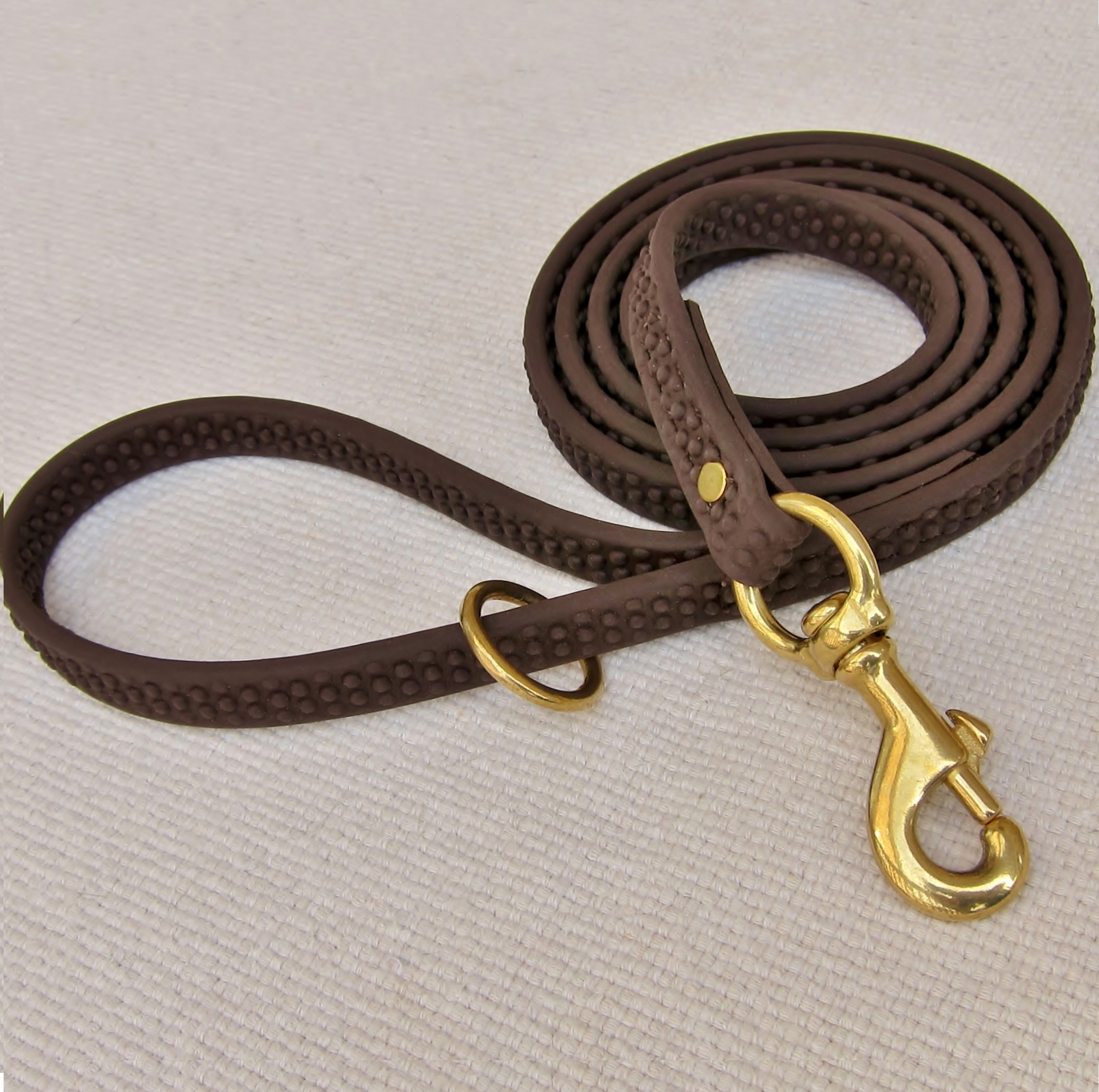 dog leash, durable dog leash, biothane, rein grip