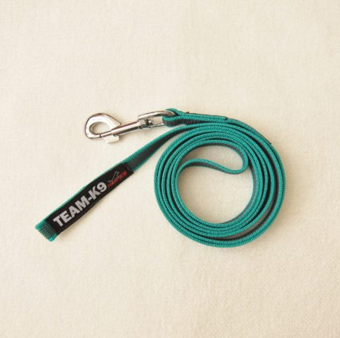 dog leash, dog leashes, dog training, green dog leash, quality dog leash, IPO, TEAM-K9, textil wide rubber, mississauga, ontario, oakville, brampton, toronto, GTA