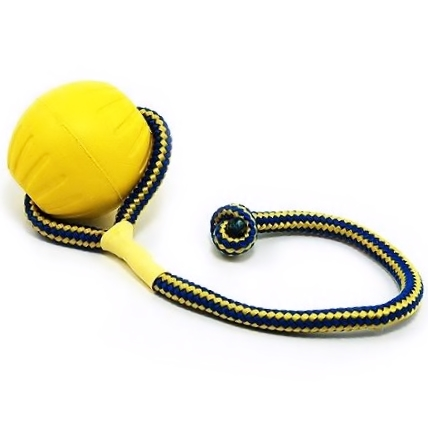 starmark, starmark foam ball, starmark swing & fling durafoam fatch ball, durafoam, dura foam, durafoam ball, team-k9, mississauga, ontario, canada, oakville, brampton balls Starmark Swing 'n Fling DuraFoam Fetch Ball StarMark Swing Fling DuraFoam Fetch Ball