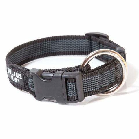 Julius-k9, dog collar, TEAM-K9, Mississauga, Oakville, Brampton, Ontario julius-k9 Julius-K9 Color & Gray Collars – Black Colour Gray Collar Black 480x480