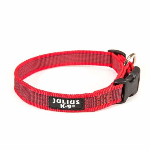 Julius-k9, dog collar, TEAM-K9, Mississauga, Oakville, Brampton, Ontario julius-k9 Julius-K9 Color & Gray Collars – Red Colour Gray Collar Red 480x480