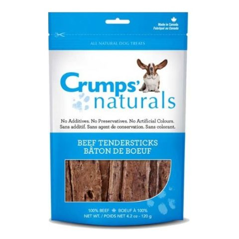 crumps, dog treats, beef tendersticks, beef lung, mississauga crumps' naturals beef tendersticks Crumps' Naturals Beef Tendersticks Crumps Beef Tendersticks 480x480