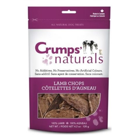 crumps, dog treats, lamb chops, mississauga crumps' naturals lamb chops Crumps' Naturals Lamb Chops Crumps Lamb Chops 480x478