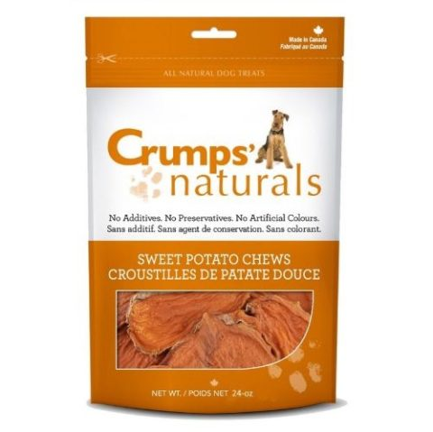 crumps, dog treats, sweet potato chews, mississauga crumps' naturals sweet potato chews Crumps' Naturals Sweet Potato Chews Crumps Sweet Potato Chews 480x479