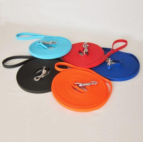 dog leash, long leash, long lead, protection training leash, tracking leash, 20 ft leash, Biothane leash, mississauga TEAM-K9, obedience leash,