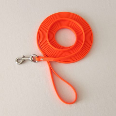 TEAM-K9, dog leash, long leash, long lead, protection training leash, tracking leash, 20 ft leash, Biothane leash, mississauga biothane protection training leash 20 ft Biothane Protection Training Leash – Orange TEAM K9 Biothane 20ft Leash Orange 2 480x480