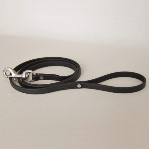 TEAM-K9, dog leash, Biothane leash, dog training leash, light weight leash, mississauga [object object] Biothane City Walk Traffic Lead – Black TEAM K9 Biothane Leash Black 480x479