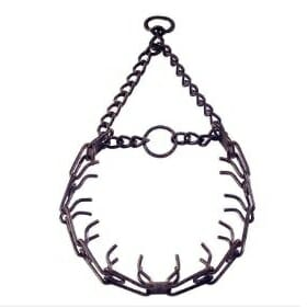 herm sprenger, sprenger prong, prong collar, team-k9, mississauga, ontario sprenger prong Sprenger Prong Collar Antique 3.0 mm 22 inches with Swivel Herm Sprenger Antique Prong Collar
