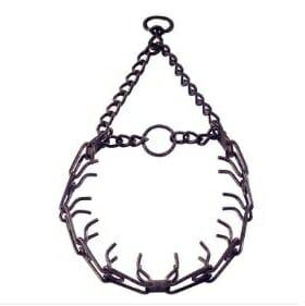 herm sprenger, sprenger prong, prong collar, team-k9, mississauga, ontario  Sprenger Prong Collar Antique 3.2 mm 23 inches Herm Sprenger Antique Prong Collar