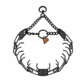 prong collar, sprenger, team-k9, mississauga, ontario, canada sprenger prong collar black inox 2.25 mm 16 inches Sprenger Prong Collar Black Inox 2.25 mm 16 inches with Swivel Prong Collar Black